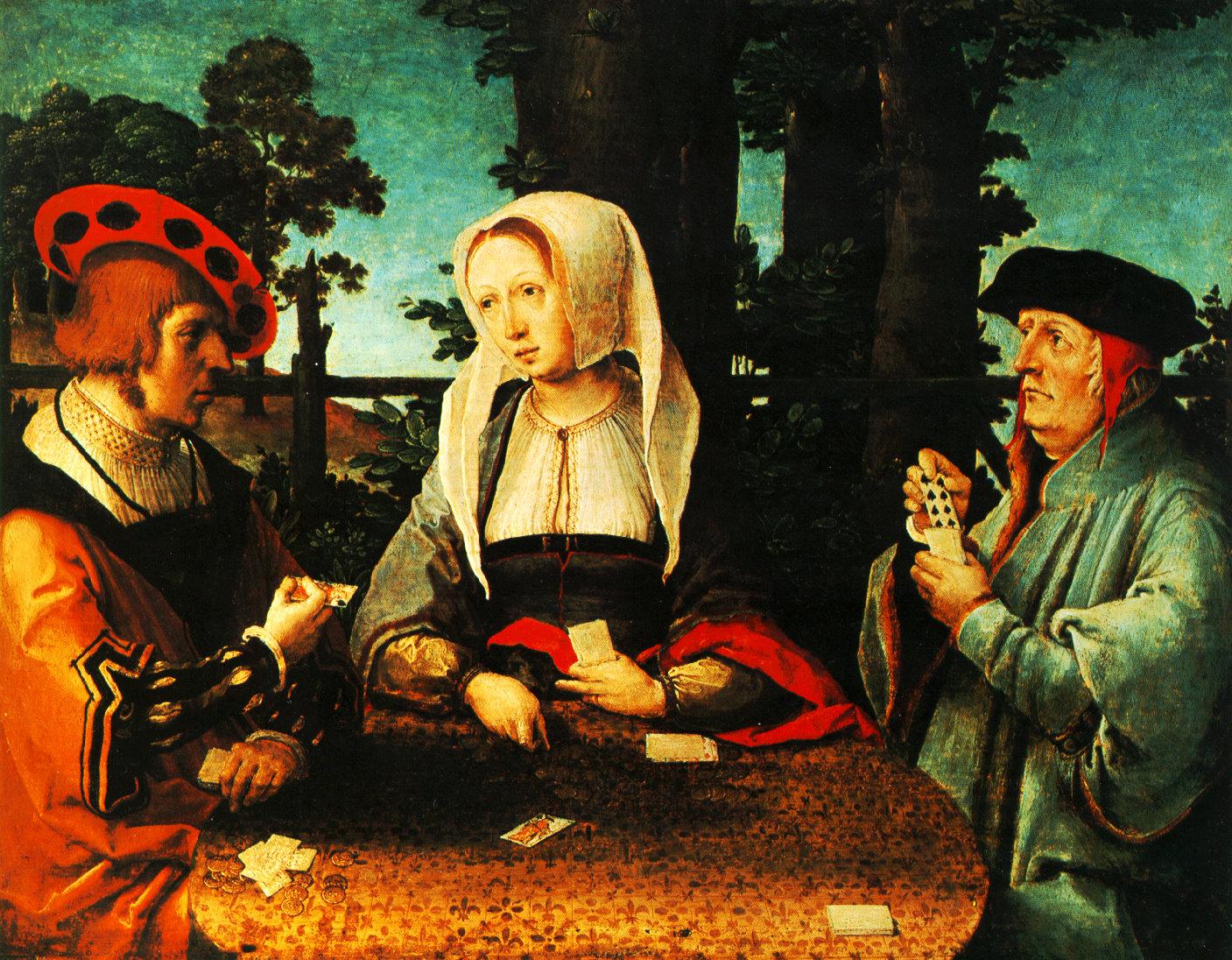 тетка с племянником игра в карты